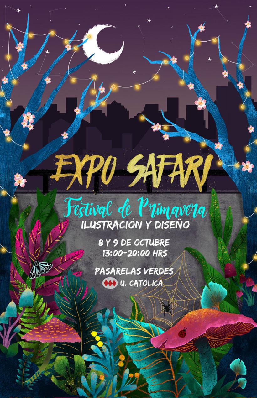 Afiche Festival de Primavera 1