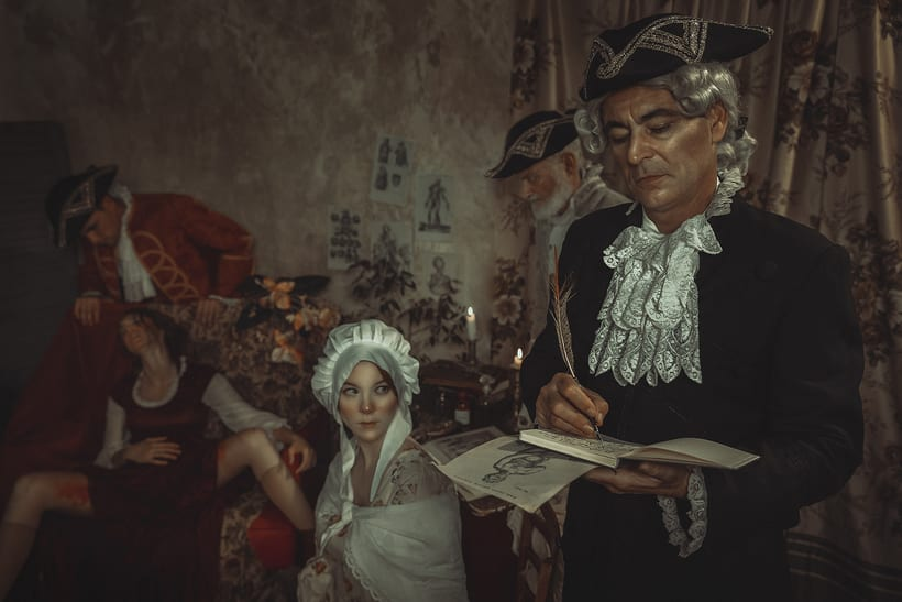 "Una historia real ""Mary Toft"" 4"