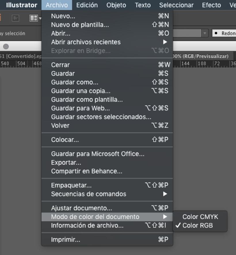 911fd92c339c9 Cómo cambiar un documento de RGB a CMYK en Illustrator ...