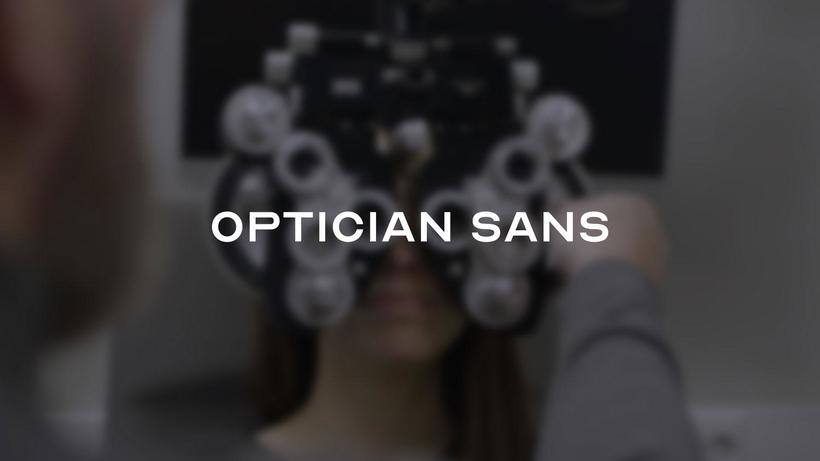 Optician Sans: la tipografía más legible del mundo 3