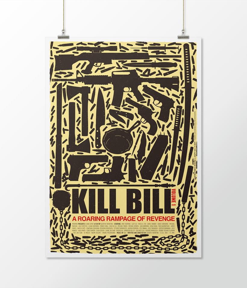 KILL BILL I · Vector illustration 0