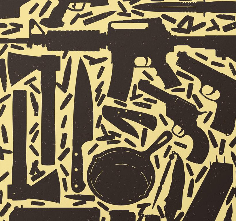 KILL BILL I · Vector illustration 1