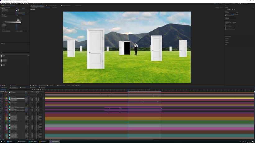 """Proyecto del curso """"Collage animado con Adobe After Effects"""". 2"""