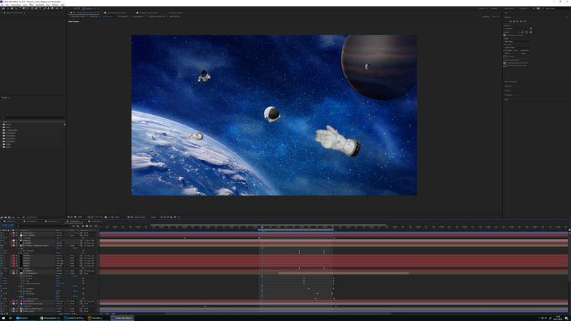 """Proyecto del curso """"Collage animado con Adobe After Effects"""". 3"""