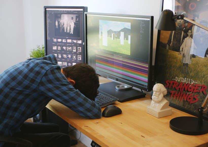 """Proyecto del curso """"Collage animado con Adobe After Effects"""". 7"""