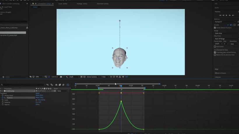 """Proyecto del curso """"Collage animado con Adobe After Effects"""". 4"""