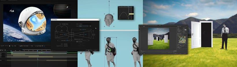 """Proyecto del curso """"Collage animado con Adobe After Effects"""". 5"""