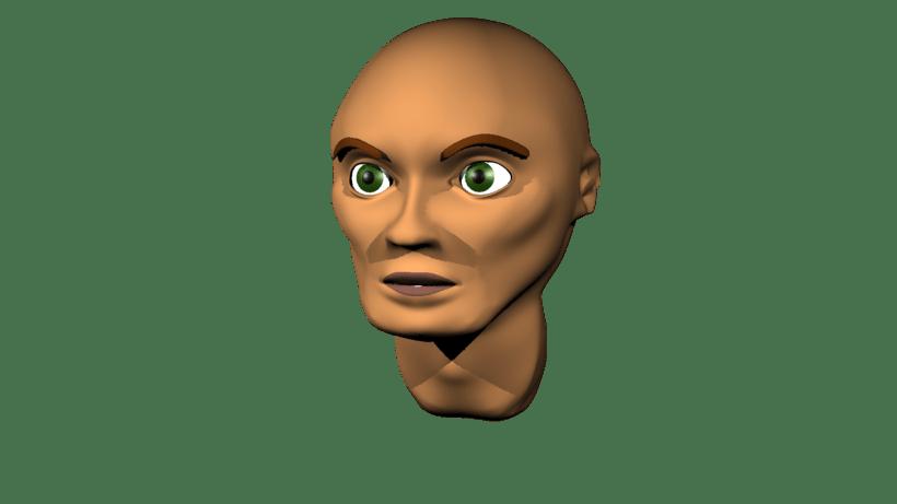Mi Proyecto del curso: Rigging: articulación facial de un personaje 3D 1