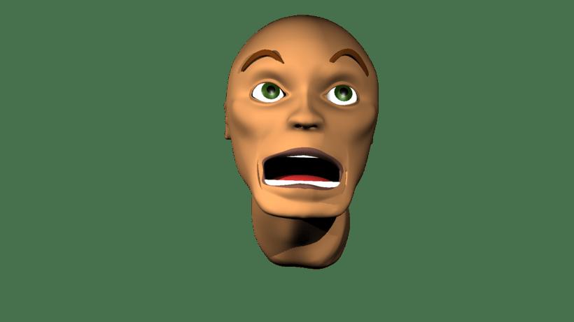 Mi Proyecto del curso: Rigging: articulación facial de un personaje 3D 3
