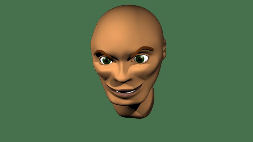 Mi Proyecto del curso: Rigging: articulación facial de un personaje 3D 4