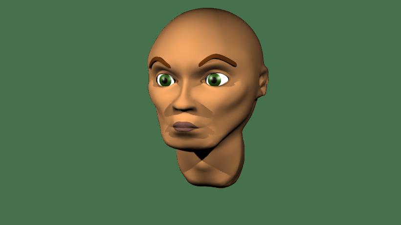 Mi Proyecto del curso: Rigging: articulación facial de un personaje 3D 5
