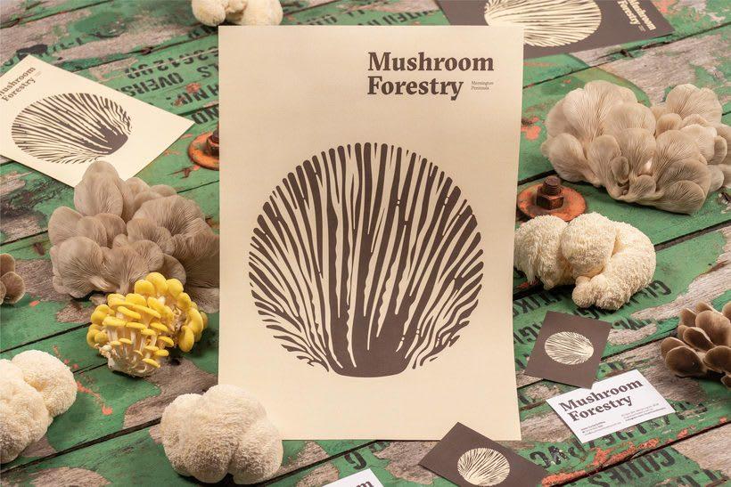 Mushroom Forestry (Logotipo) 3