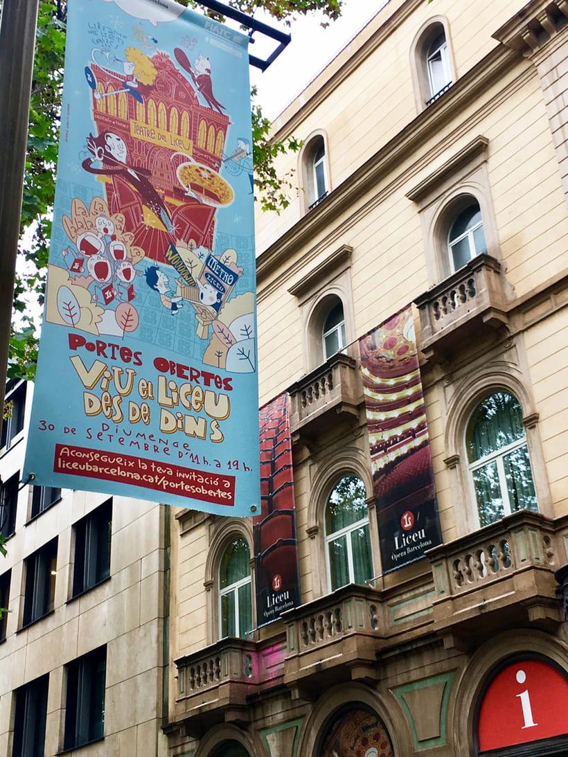 """Liceu de Barcelona.""""Viu el Liceu des de Dins"""" (Vive el Liceo desde dentro)  3"""