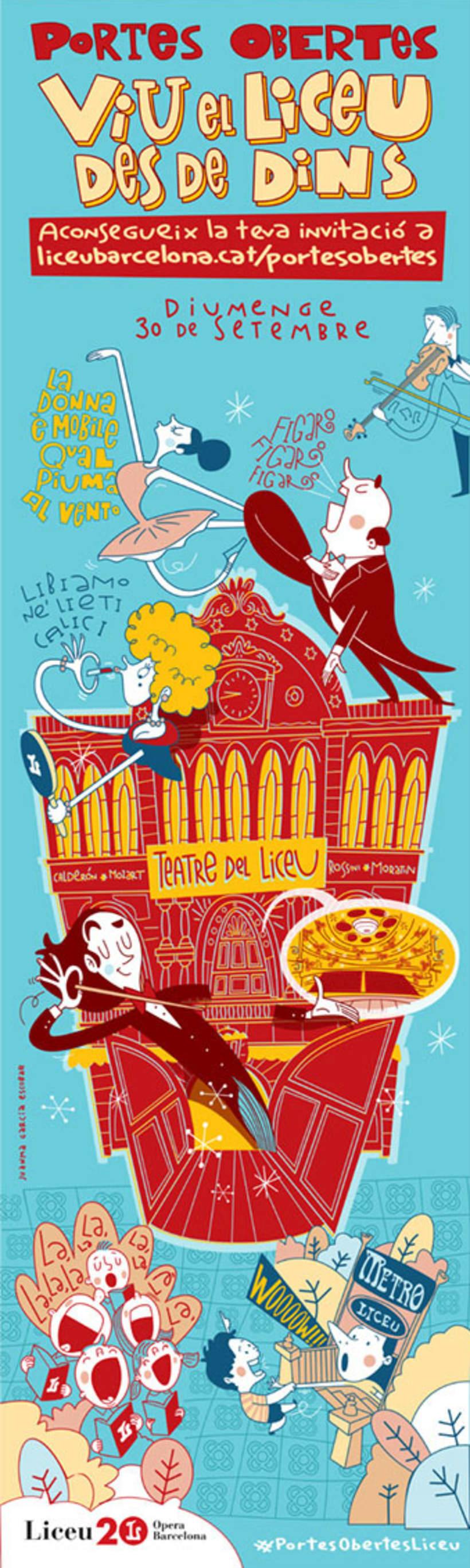 """Liceu de Barcelona.""""Viu el Liceu des de Dins"""" (Vive el Liceo desde dentro)  5"""