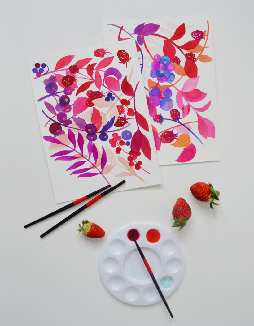 Diseño de estampados para packaging de té 5