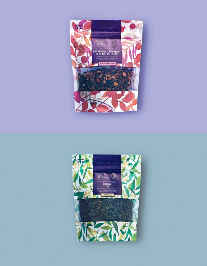 Diseño de estampados para packaging de té 10