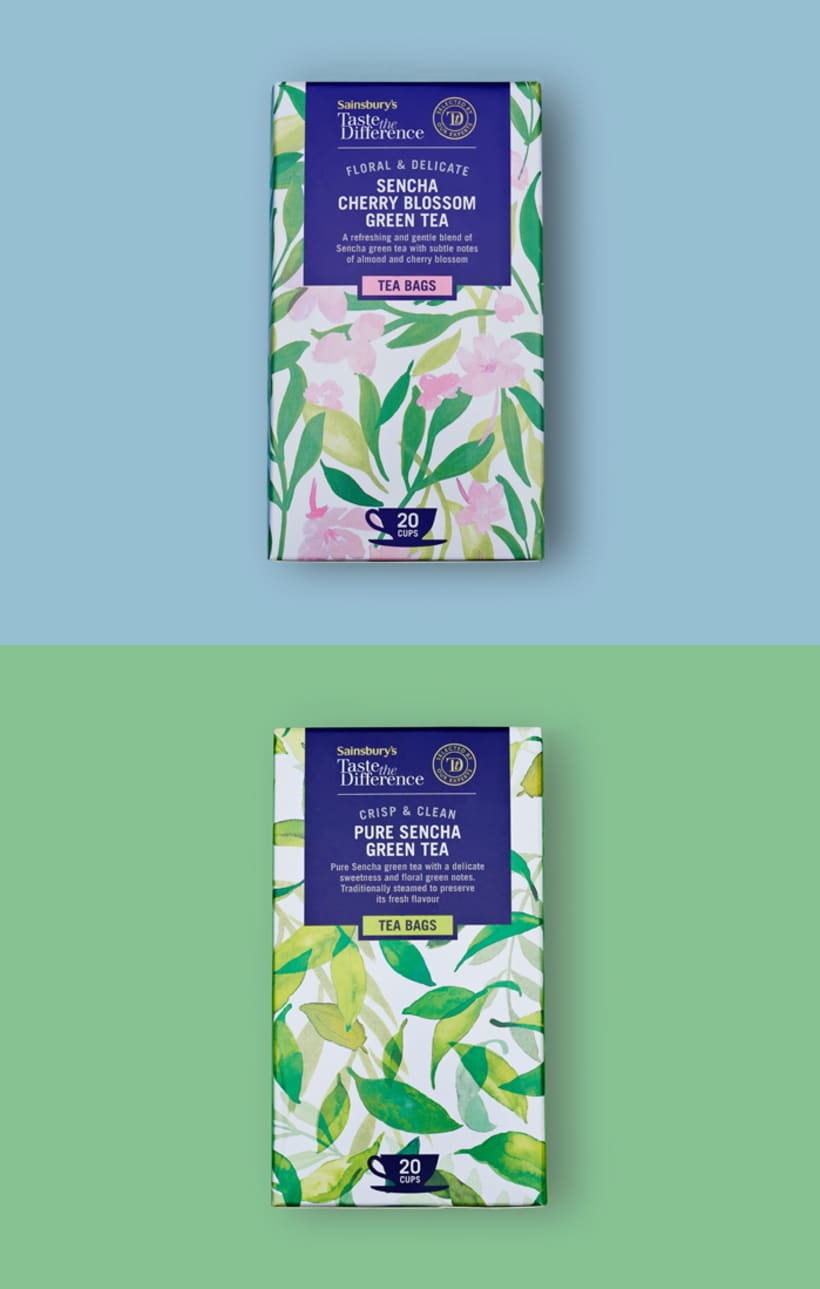 Diseño de estampados para packaging de té 13