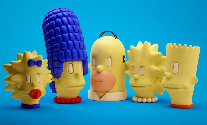 Simpsons fan art - Offf 2