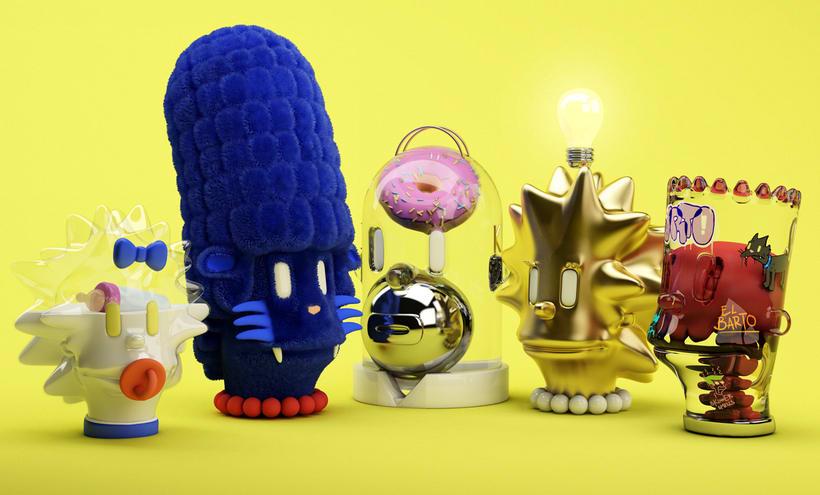 Simpsons fan art - Offf 10