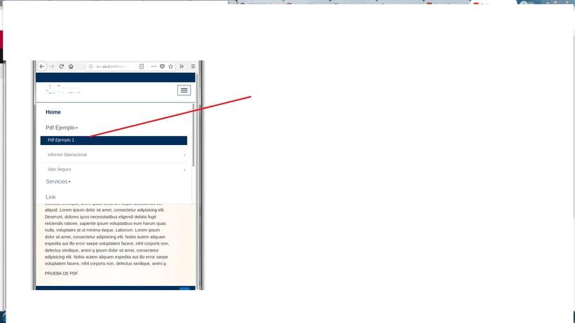 Menu (navbar-header) no cierra después de seleccionar una opción. 1