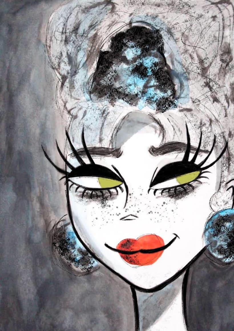 Ilustradora freelance Carolina Ferreiro 1