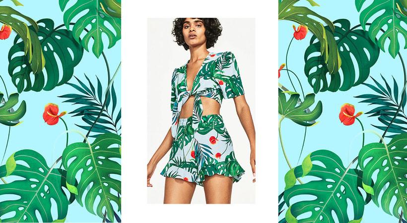 Print Tropical / Zara  0