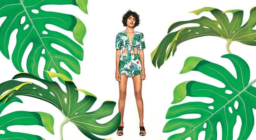 Print Tropical / Zara  1