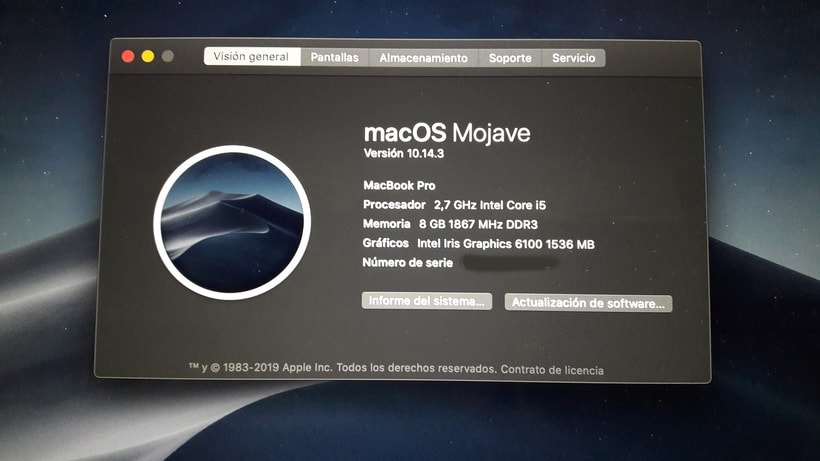 "Vendo MacBook Pro retina 13"" 2015 4"