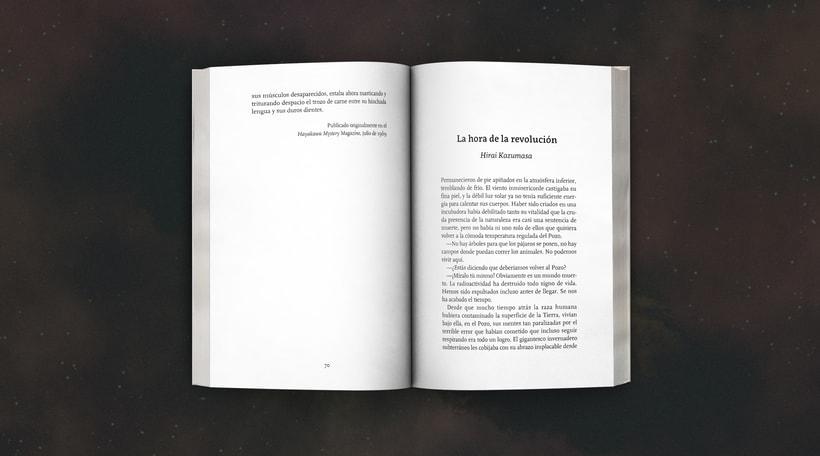 Diseño de colección «Satori Ficción» 5