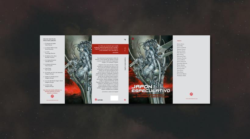Diseño de colección «Satori Ficción» 3