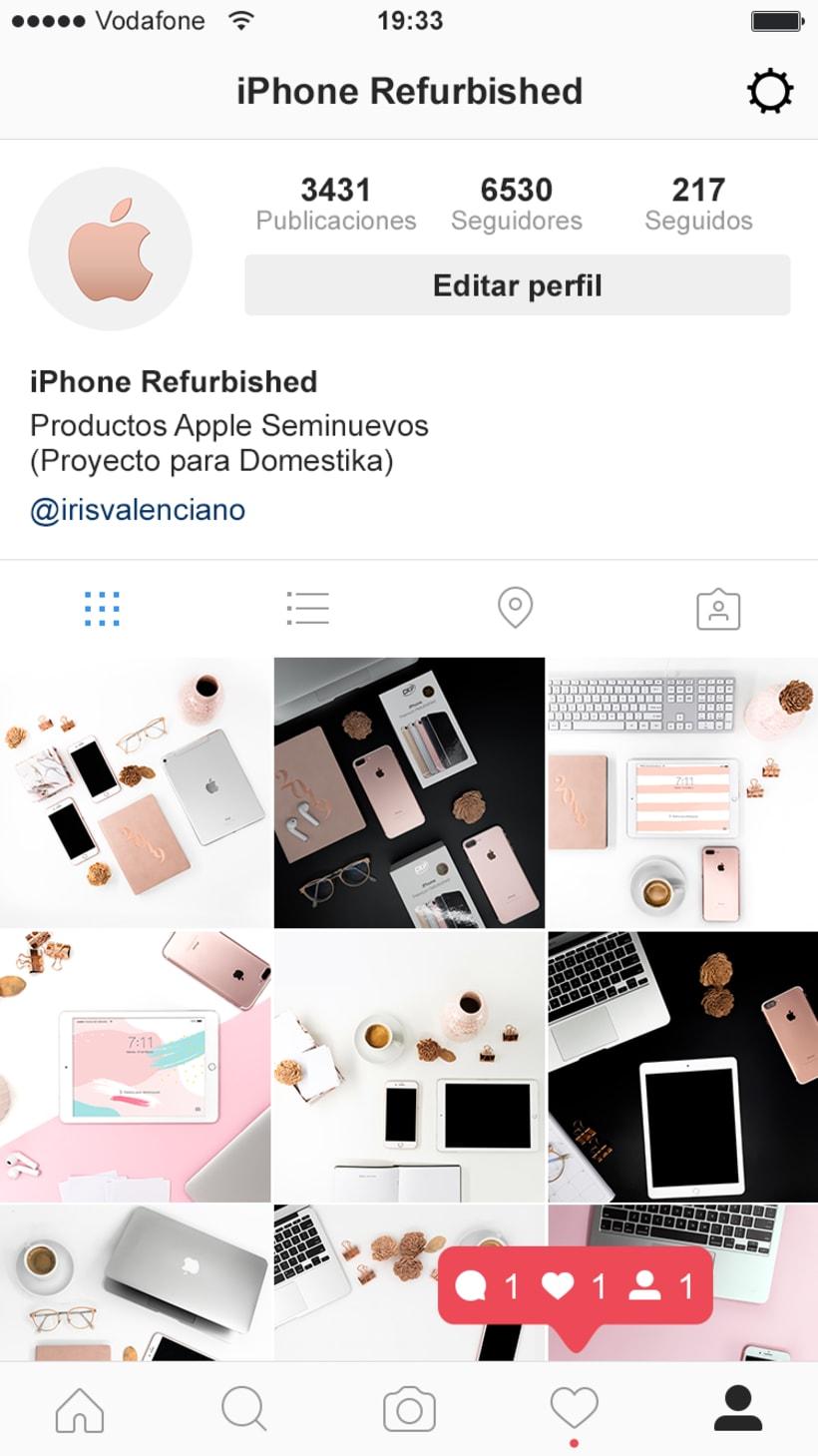 Fotografía para instagram: Productos reacondicionados 8