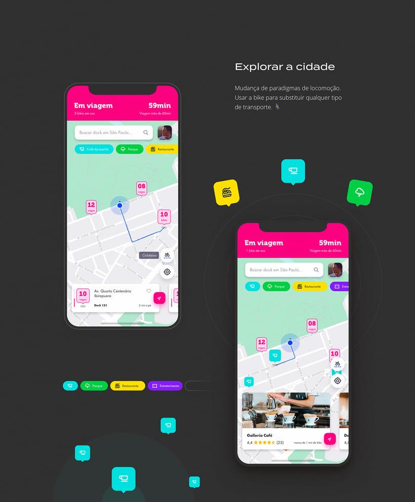 App Bike Sharing - Tembici / Bike Itaú 1