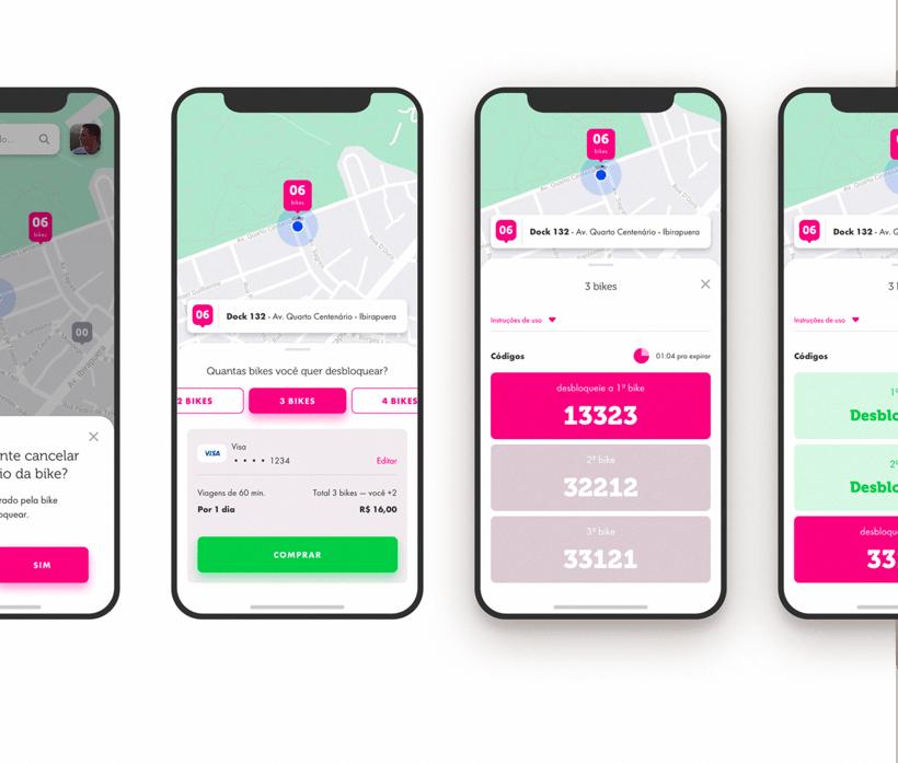 App Bike Sharing - Tembici / Bike Itaú 3