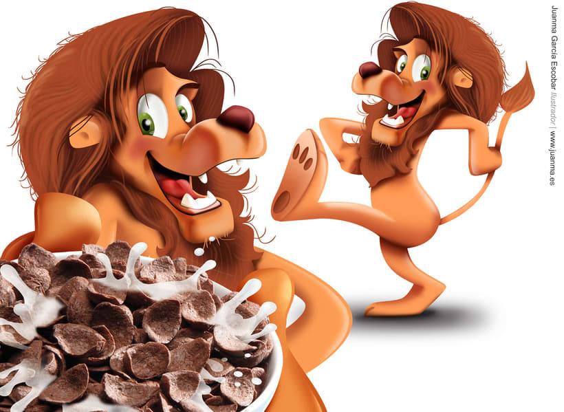 Creación de personajes para packaging de cereales Consum KIDS 3