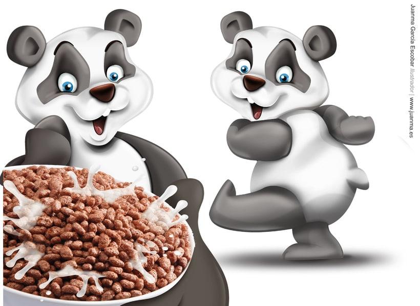 Creación de personajes para packaging de cereales Consum KIDS 6