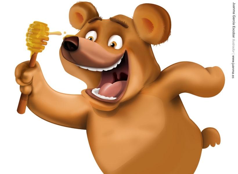 Creación de personajes para packaging de cereales Consum KIDS 10