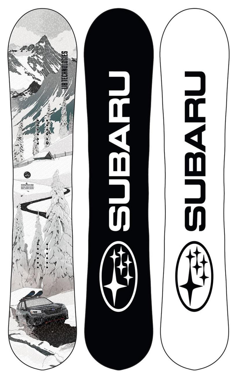 Tabla de Snow para el Subaru Winter Fest 2