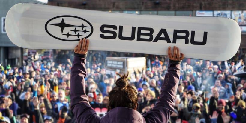 Tabla de Snow para el Subaru Winter Fest 4