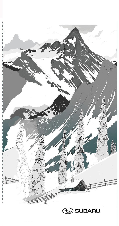 Tabla de Snow para el Subaru Winter Fest 3