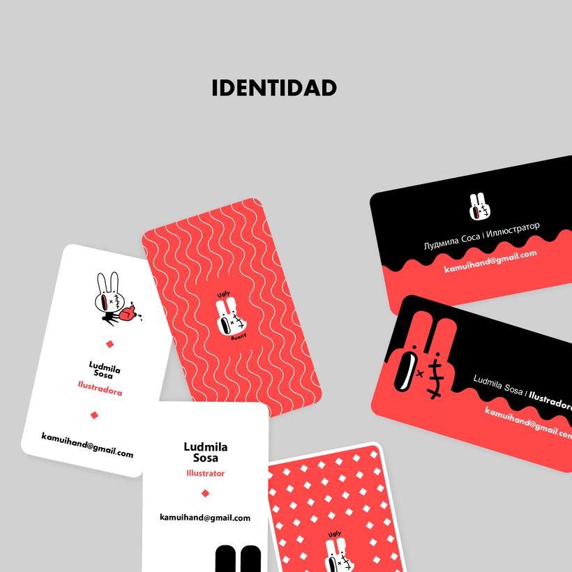 Proyecto Final: Identidad - Ugly Bunny (vectores) 7