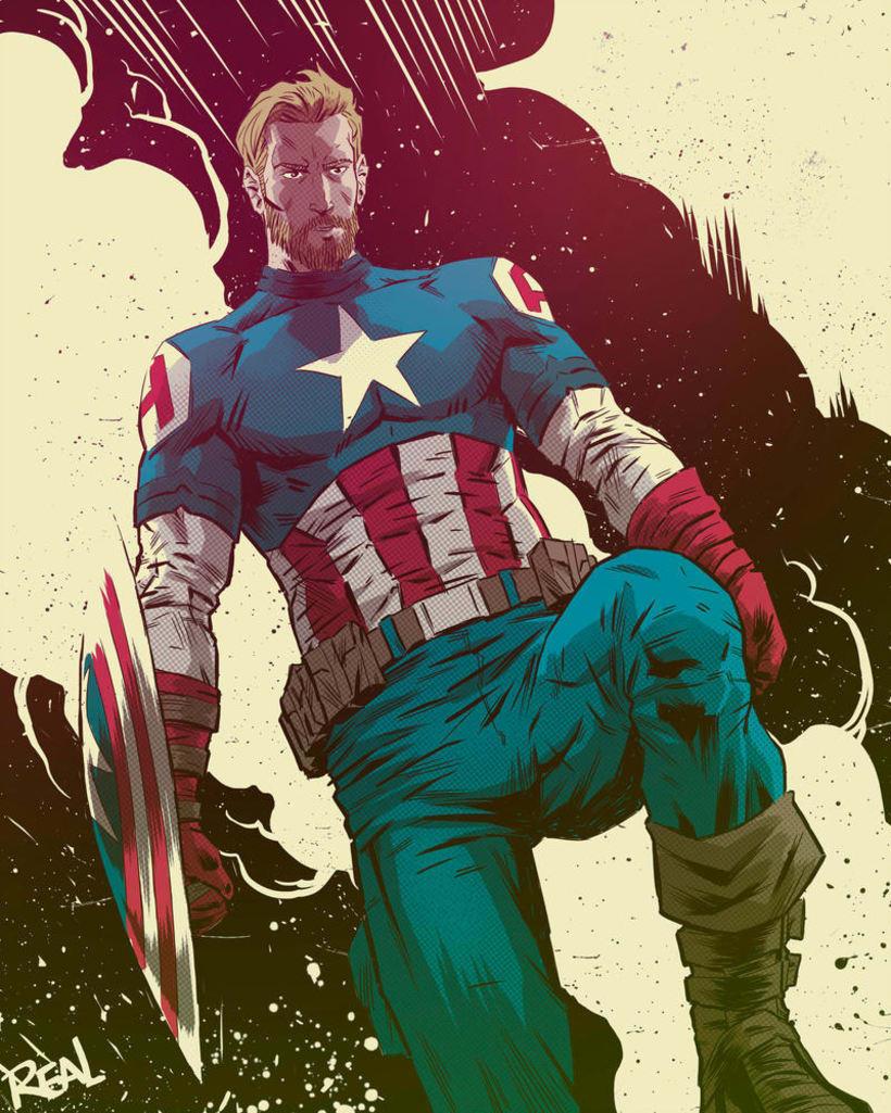 Avengers Endgame Fanarts 1-5 0