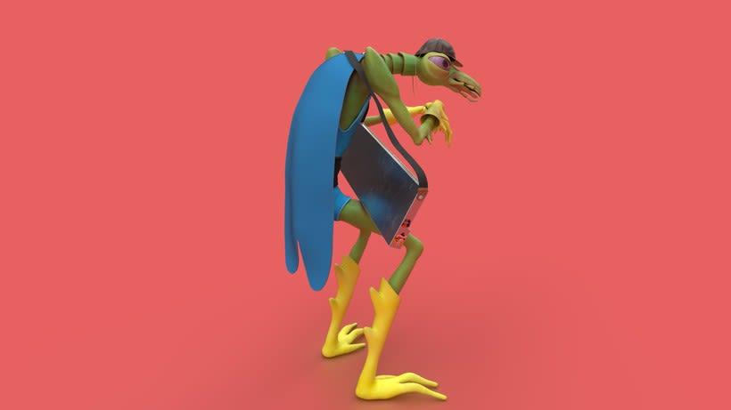 Mi Proyecto del curso: Creación de personajes: del 2D al 3D  2