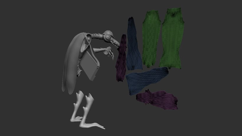 Mi Proyecto del curso: Creación de personajes: del 2D al 3D  7