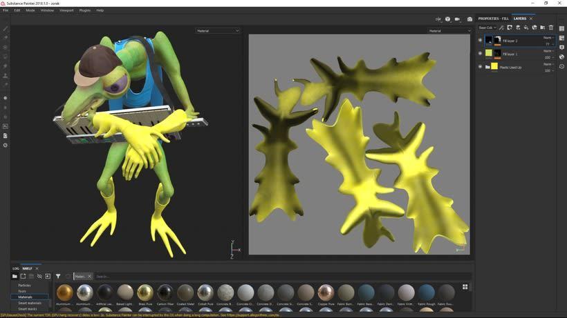 Mi Proyecto del curso: Creación de personajes: del 2D al 3D  9