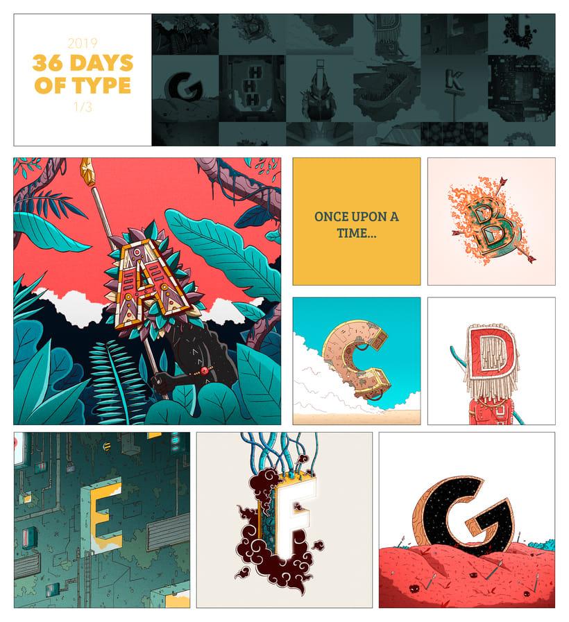 36 Days of Type · 06 2