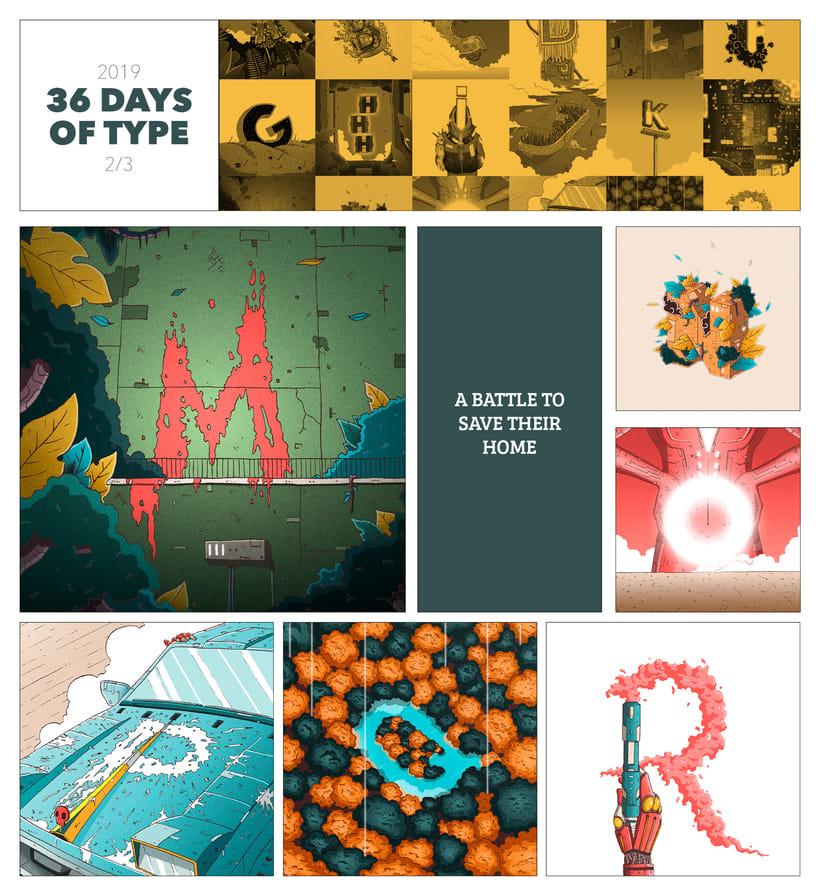 36 Days of Type · 06 4