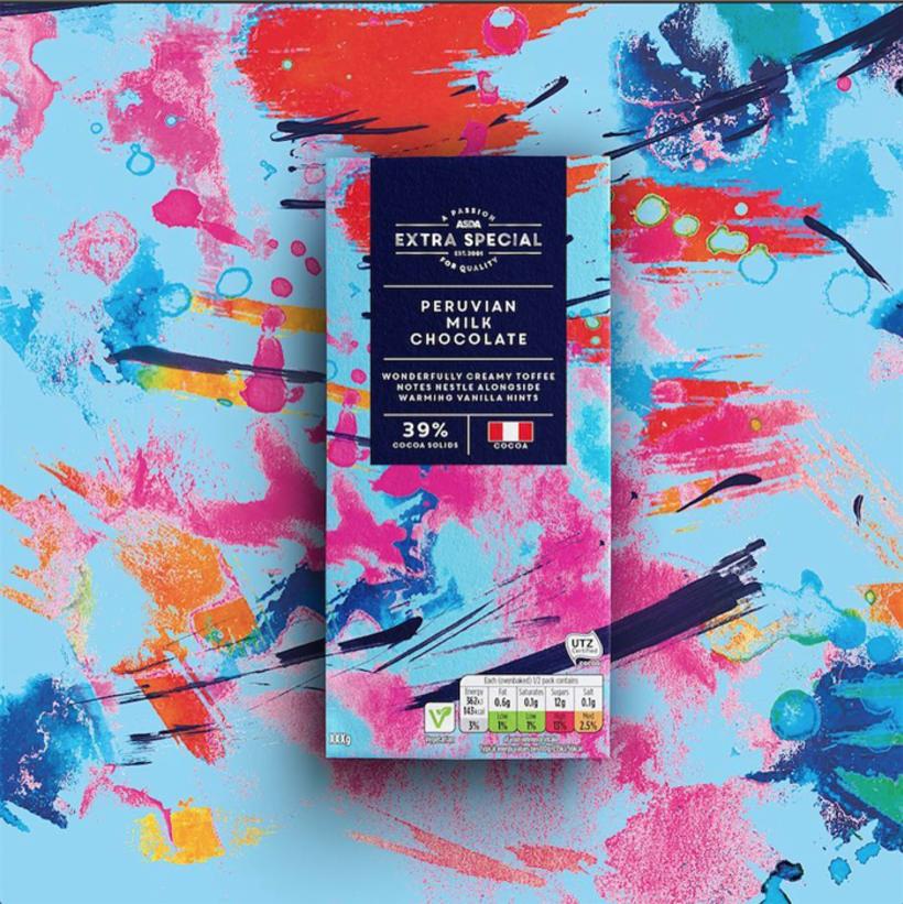 Diseño de estampados para packaging de chocolate 1