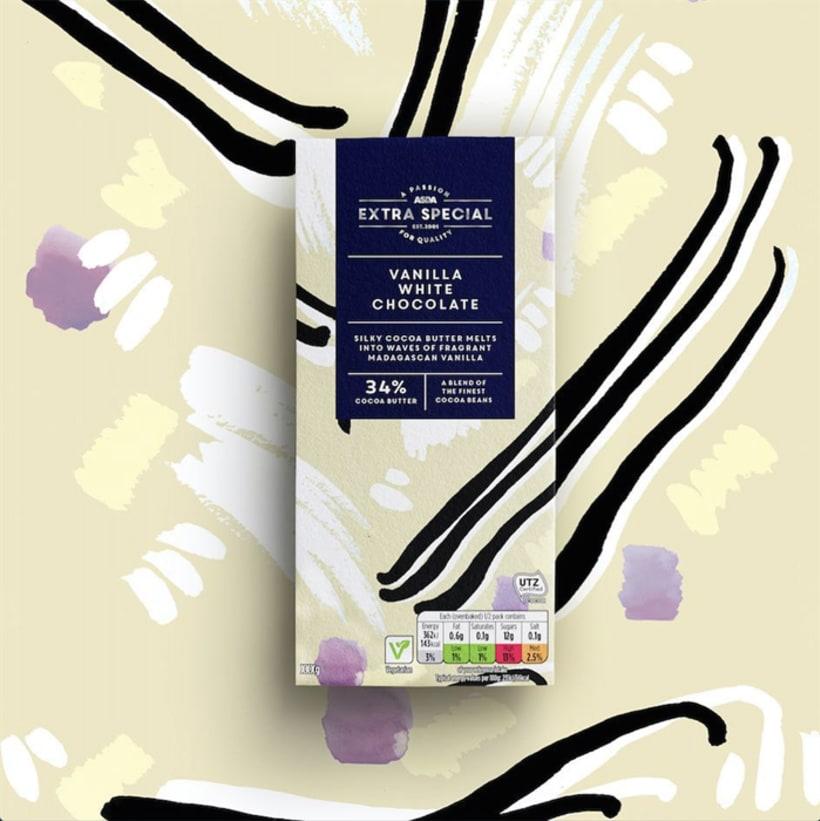Diseño de estampados para packaging de chocolate 3
