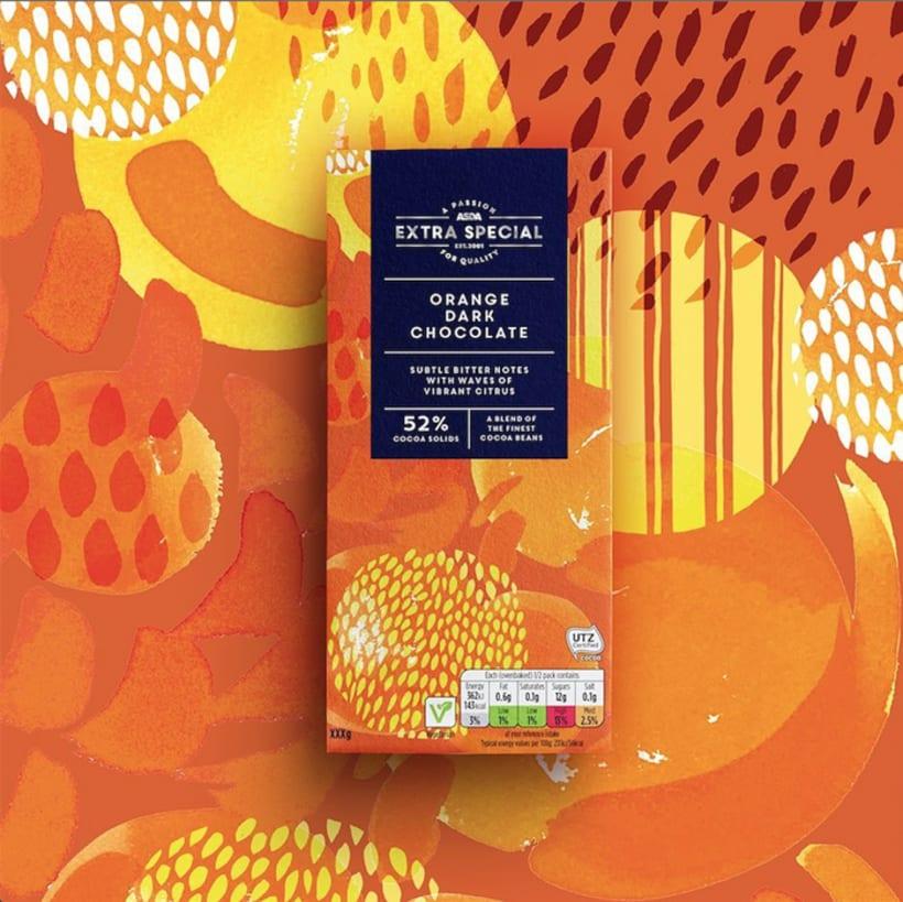 Diseño de estampados para packaging de chocolate 4
