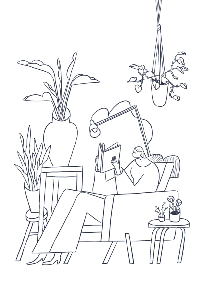 Surrounded by plants 0
